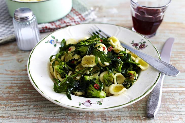 Orecchiette with Broccoli and Arugula Recipe