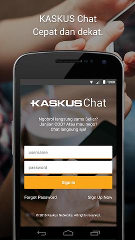 android KASKUS Chat Screenshot 0