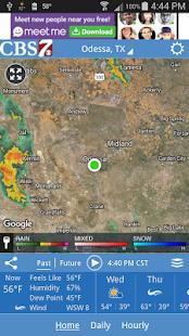 CBS 7 Radar - náhled