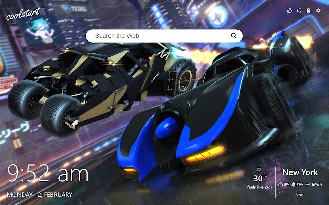 Rocket League Hd Wallpapers New Tab Theme