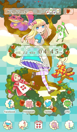 Colorful Alice +HOME Theme 1.0.0 Windows u7528 1