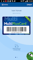 Screenshot of MultiPlusCard