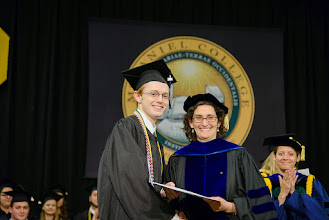 Photo: Alan Lyons, Political Science and International Studies major from Winfield, Md., The Robert Joseph Weber Award for Excellence in Political Science and International Studies