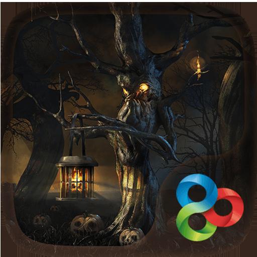 Halloween Dark Go Launcher 個人化 App LOGO-硬是要APP