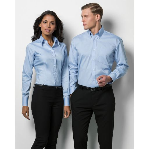 Kustom Kit Ladies Oxford Corporate Long Sleeve Shirt