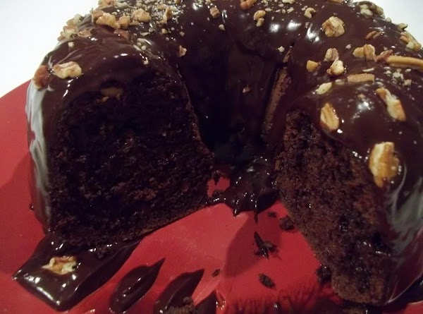 The cake is very moist, and very rich. I would slice smaller pieces to...