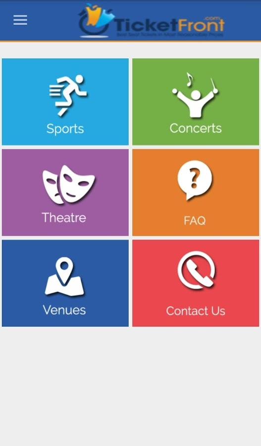 Sports & Concerts Tickets- screenshot