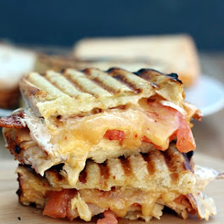 Chipotle Chicken Bacon Ranch Panini.