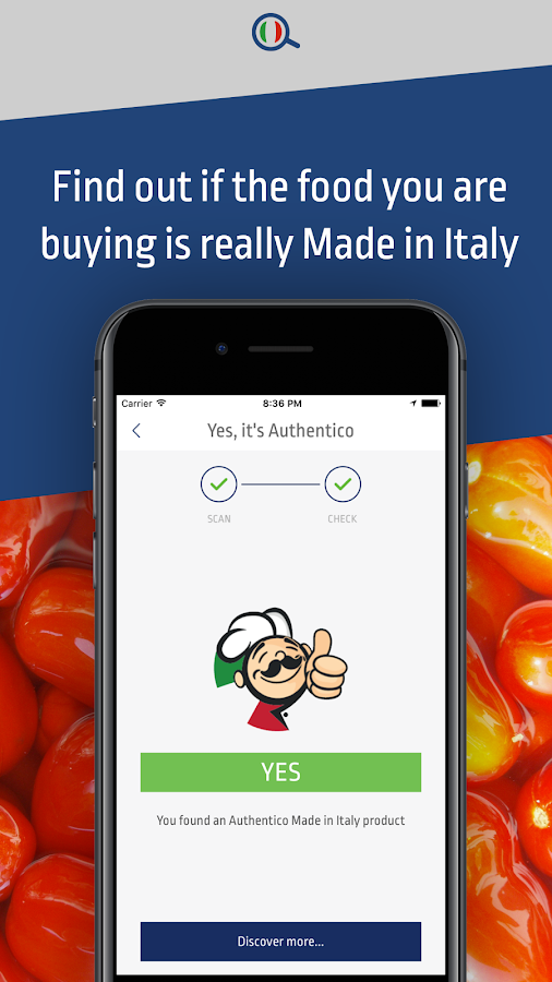 Authentico I love Italian food- screenshot