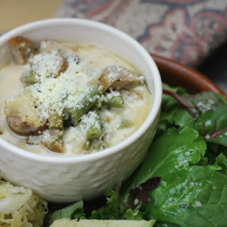 Italian Parmesan Sausage Soup