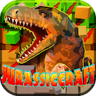 JurassicCraft: Free Block Build & Survival Craft icon