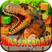 JurassicCraft: Free Block Build & Survival Craft