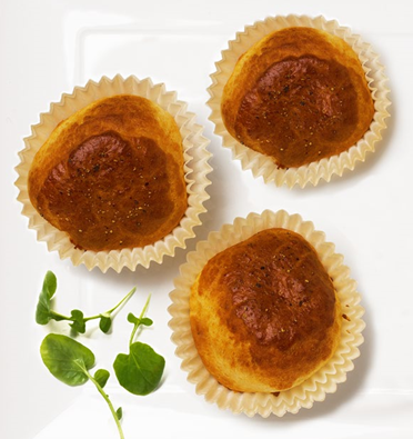 13. Welsh rarebit muffins