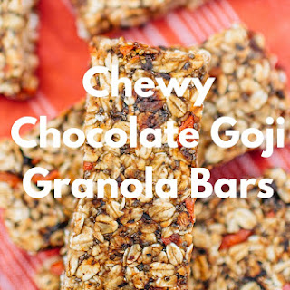 Chewy Chocolate Goji Granola Bar