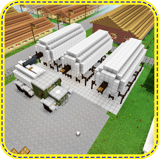Naval Base. Map for MCPE