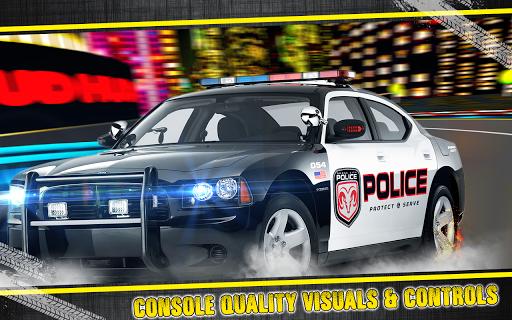 Police vs Sportscar Robbers
