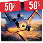Flight Ticket Booking 50% Off