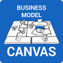 Business Model Canvas Startup icon