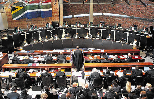 The Constitutional Court is hearing submissions on the promulgation of the Intimidation Act.