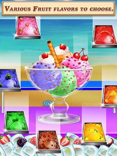 Code Triche Street Ice Cream Shop - Summer Beach Carnival APK MOD screenshots 3