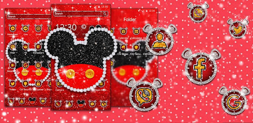 Cute Red Mouse Theme Apps On Google Play