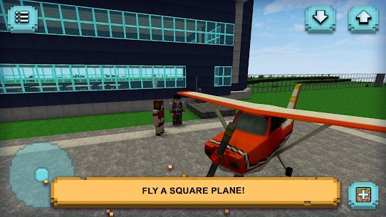Plane Craft: Square Air – [Mod + APK] Android 2