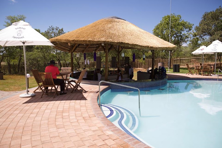 The pool bar at Euphoria Lifestyle and Golf Estate.