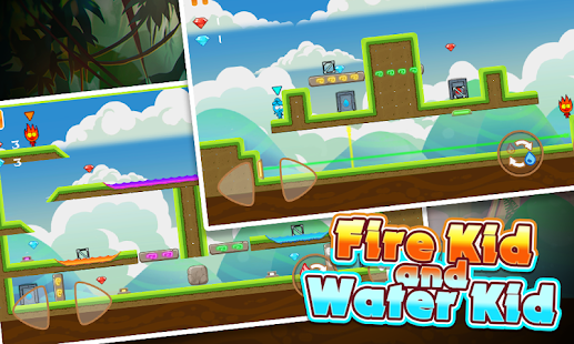 Fire Kid And Water Kid – Fire and Water Maze 4