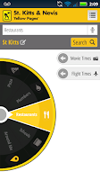 Screenshot of St. Kitts Nevis Yellow Pages