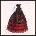 SR-金刺繍ドレス