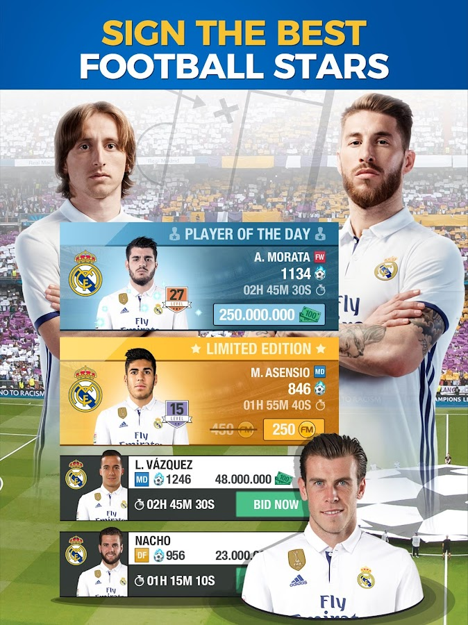 Real Madrid Fantasy Manager'17- Real football live- screenshot