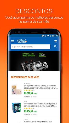 KaBuM! - As melhores ofertas em eletru00f4nicos 2.17 screenshots 1