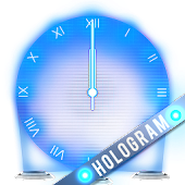 Hologram Clock Widget