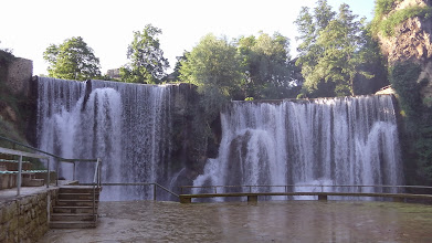 Photo: Jajce-waterfall