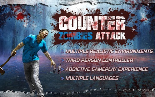 Counter Zombies Attack- screenshot thumbnail