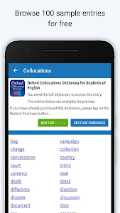 Oxford Collocations Dictionary 1 0 9 (Unlocked) APK for Android