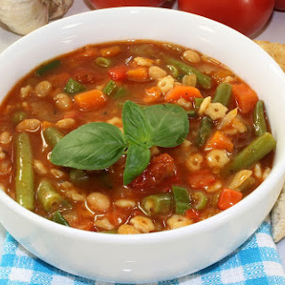 Garden Harvest Vegetable Soup.