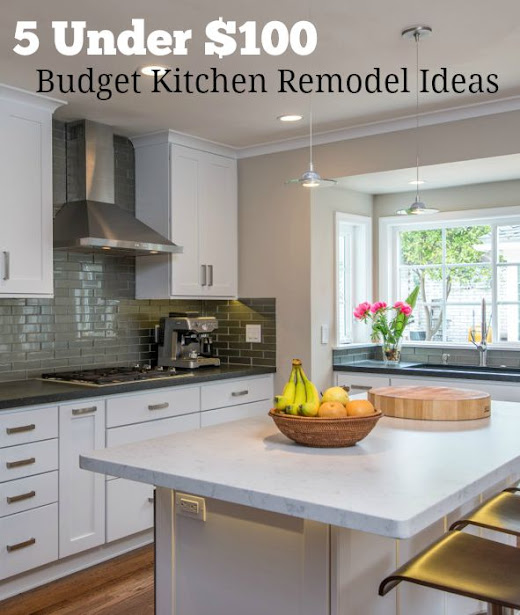 5 Budget Kitchen Remodel Ideas Under $100 You Can DIY on Small:xmqi70Klvwi= Kitchen Remodel Ideas  id=54087