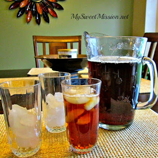 Classic Southern Sweet Tea.