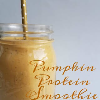 Pumpkin Protein Smoothie - Nutritious & Delicious.
