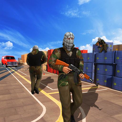 动作のコマンドースナイパーミッション2015 LOGO-記事Game