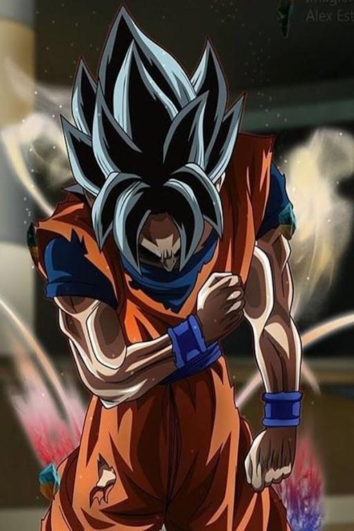 Descargar Black Goku Rose Wallpaper Apk última Versión 12