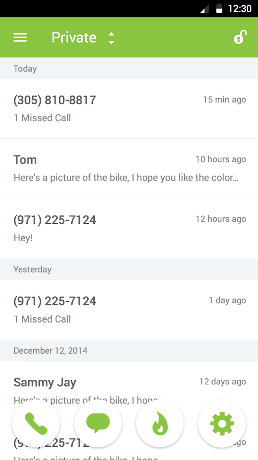 Burner - Smart Phone Numbers- screenshot