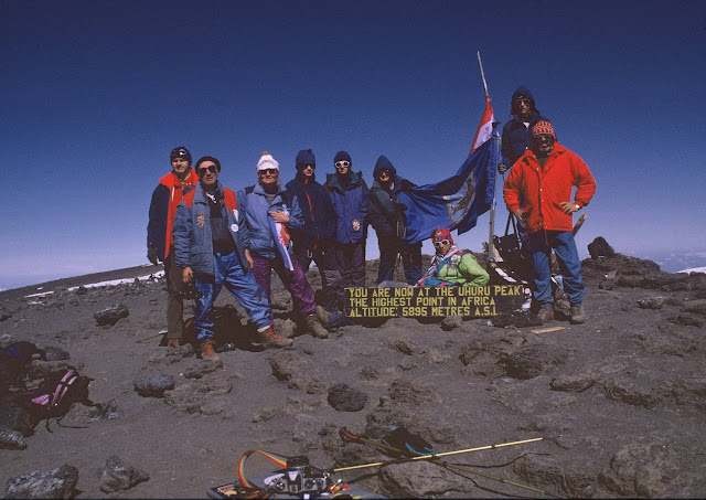 20 godina Jaskanske ekspedicije Kilimanjaro 1996.