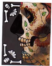 Photo: Wenchkin's Mail Art 366 - Day 233 - Card 233a
