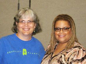 Photo: Alabama activist Kathy McMullen (amazing LGBT ally)