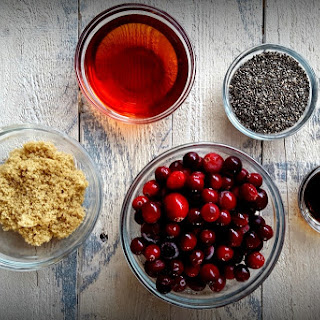 Cranberry Chia Seed Jam.