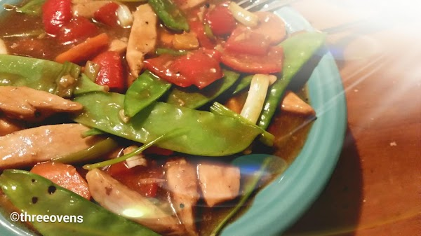 Lemon Chicken Stir-fry (weight Watchers) Recipe