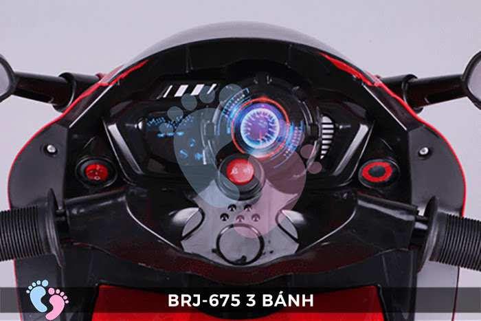 Xe moto điện trẻ em BRJ-675 3 bánh 15