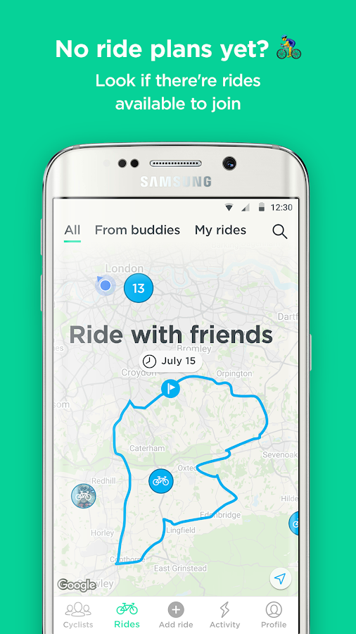 JOIN – Meet cyclists and ride together- screenshot